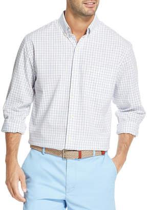Izod Premium Essentials Long Sleeve Button-Front Shirt