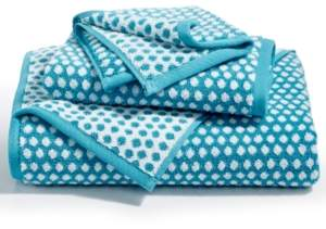 Charter Club Elite Cotton Fashion Dot Hand Towel, Created for Macy's Bedding