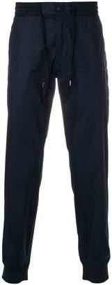Emporio Armani drawstring-waist track pants
