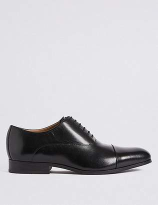Marks and Spencer Extra Wide Fit Leather Lace-up Shoes