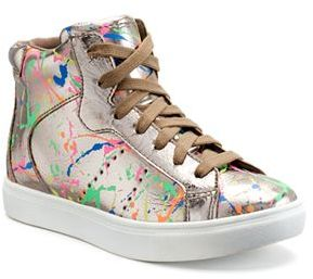Candie's® Splatter Girls' High-Top Sneakers $54.99 thestylecure.com