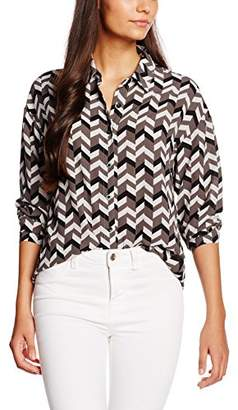 boohoo Women's Mono Printed Shirt