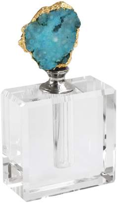 Jay Import Blue Agate Perfume Bottle