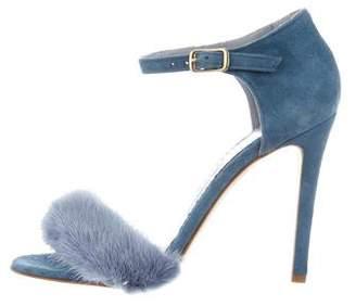 Blood & Honey Mrs. Right Fur Sandals