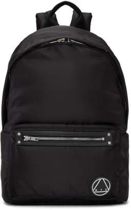 McQ Black Loveless Backpack