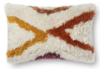 Lulu & Georgia Justina Blakeney Summit Lumbar Pillow, Ivory