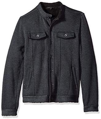 John Varvatos Men's Knit Jean Jacket