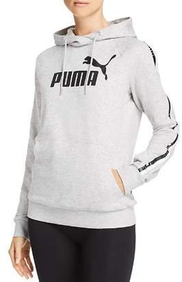 Puma Logo Tape Hooded Sweatshirt