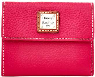 Dooney & Bourke Pebble Grain Small Flap Wallet