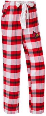 Concepts Sport Women's Louisville Cardinals Homestretch Flannel Pajama Pants