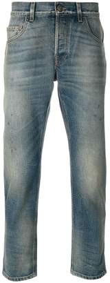 Gucci tapered denim jeans