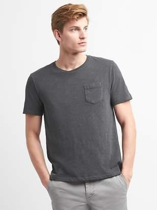 Gap Pocket T-Shirt in Slub Cotton