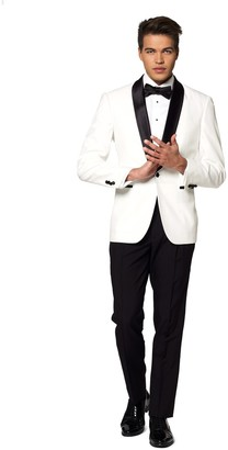 Opposuits Men's OppoSuits Slim-Fit Pearly White Tuxedo