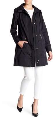 Cole Haan Double Face Packable Rain Jacket