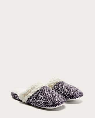 Slip-On Sherpa Slippers