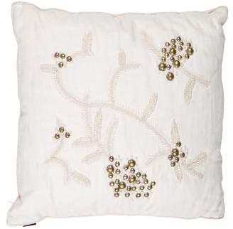 Ankasa Beaded Throw Pillow