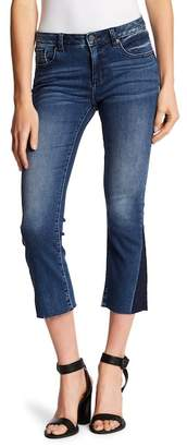 Miss Me Cropped Slim Boot Cut Jeans