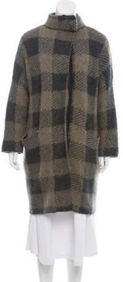 Rag & Bone Knee-Length Plaid Coat