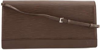Louis Vuitton Mocha Epi Leather Honfleur