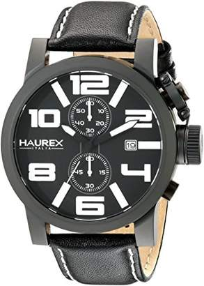 Haurex Italy Men's 3N506UWN TURBINA II Analog Display Quartz Watch