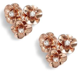 Kate Spade Shine On Flower Cluster Stud Earrings