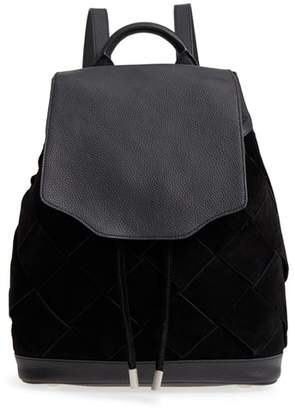 Rag & Bone (ラグ アンド ボーン) - rag & bone Pilot Suede & Leather Backpack