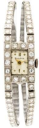 Bulova 2.16ctw Diamond Classic Watch