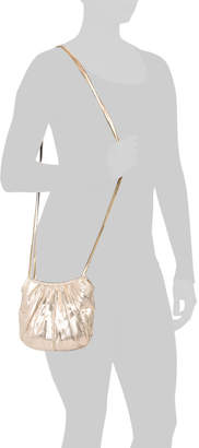 Embossed Pleated Convertible Clutch
