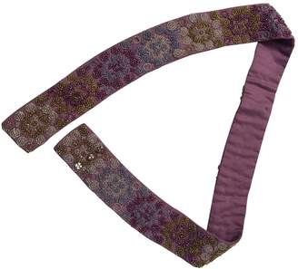 Alberta Ferretti Cloth belt