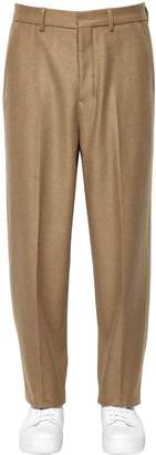 Ami Alexandre Mattiussi Virgin Wool Blend Pants