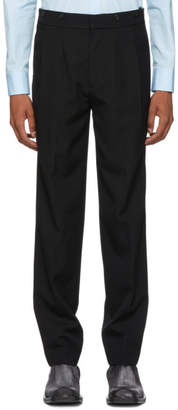 Helmut Lang Black Half Web Trousers