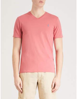 Polo Ralph Lauren Custom-fit cotton-jersey T-shirt