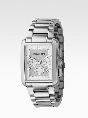 Michael Kors Three-Link Watch/Silver