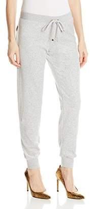 Juicy Couture Black Label Women's Bling Slim Velour Pant $40.22 thestylecure.com