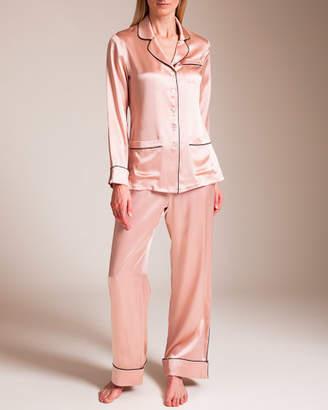Bracli Olivia Von Halle Coco Silk Pajama