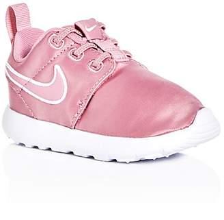 Nike Girls' Roshe One Satin Slip-On Sneakers - Walker, Toddler