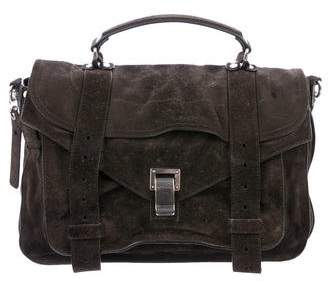 Proenza Schouler Suede Medium PS1 Satchel