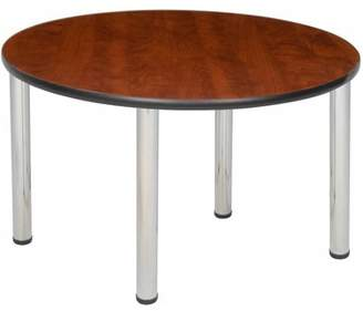 """Regency Products Regency Seating 42"""" Round Table with Chrome Post Legs"""