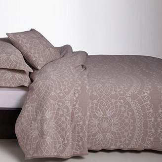 Camilla And Marc Burrito White cog120 08 135 x B Quilt Jacquard, Cotton Blend, Brown, 5 X 45 X 35 Cm