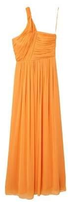 MANGO Asymmetric draped gown