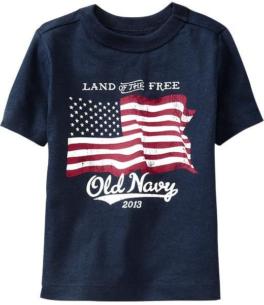 Old Navy Flag Graphic Tees for Baby
