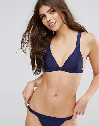 MinkPink Fixed Triangle Bikini Top