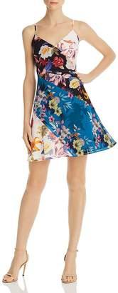 GUESS Georgiana Mixed Floral Dress