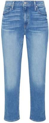 Paige Jimmy Jimmy Cropped Boyfriend Jeans