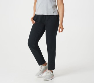 Denim & Co. Active French Terry Pull-On Ankle Pants