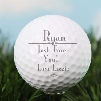 Equipment The Letteroom Personalised Message Golf Ball