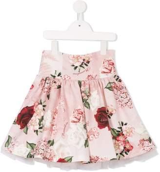 MonnaLisa floral printed tutu