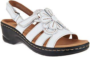 Clarks Leather Lightweight Sandals - LexiVenice