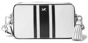 MICHAEL Michael Kors Striped Leather Crossbody Camera Bag