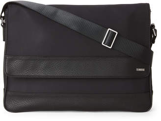 Calvin Klein Black Nylon Messenger Bag